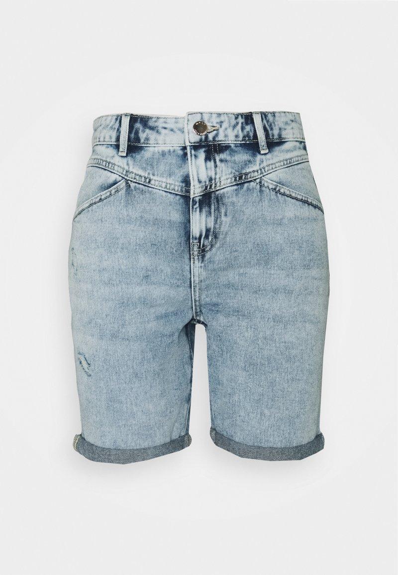 ONLY - ONLFUTURE LIFE - Denim shorts - light blue denim