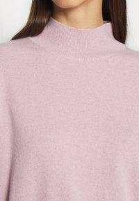 ALIGNE - ATHENA - CASHMERE TURTLE NECK - Strikkegenser - pink - 5