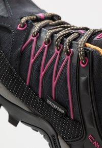 CMP - RIGEL - Hiking shoes - antracite/bounganville - 5
