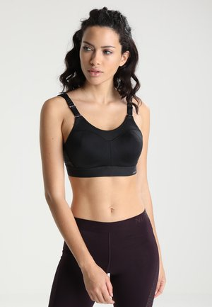 TRIACTION CONTROL - High support sports bra - black