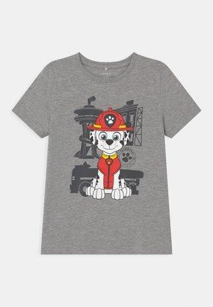 NMMPAWPATROL THIAGO  - T-shirt print - grey melange