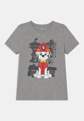 NMMPAWPATROL THIAGO  - Print T-shirt - grey melange
