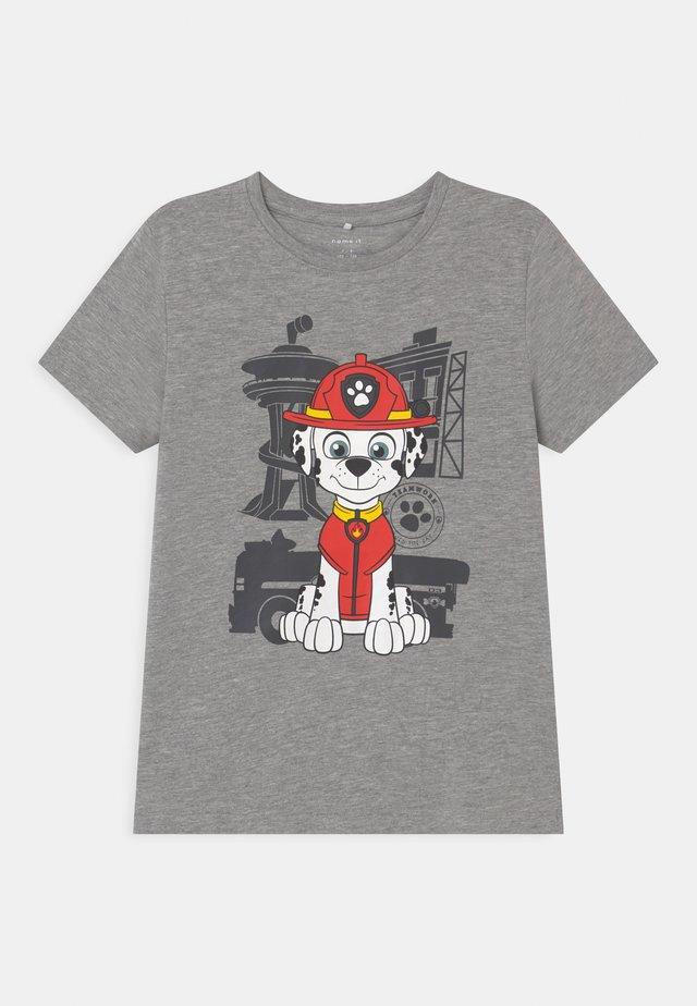 NMMPAWPATROL THIAGO  - Camiseta estampada - grey melange