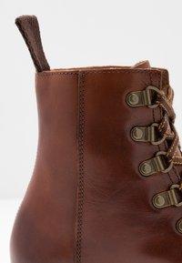 Grenson - NANETTE - Platform ankle boots - tan - 2