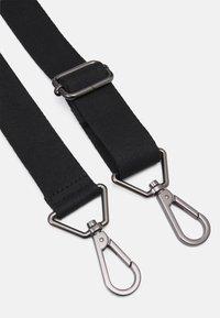 Zign - LEATHER UNISEX - Weekend bag - black - 4