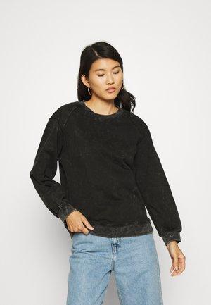 THE RECLAIMED JUMPER - Sweatshirt - black