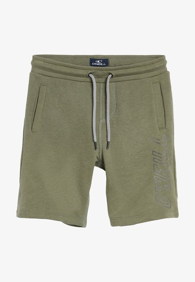 Shorts - olive leaves