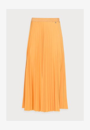 PLISSEE SKIRT - Plooirok - golden orange