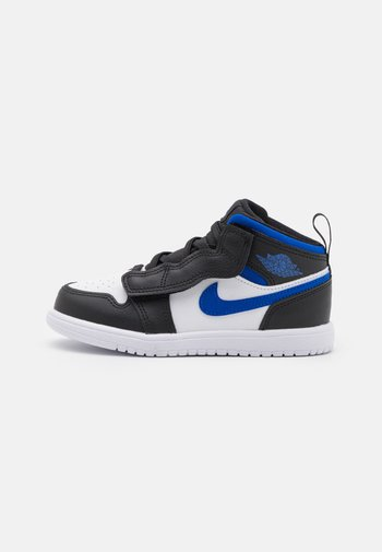 1 MID UNISEX - Basketbalschoenen - white/racer blue/black