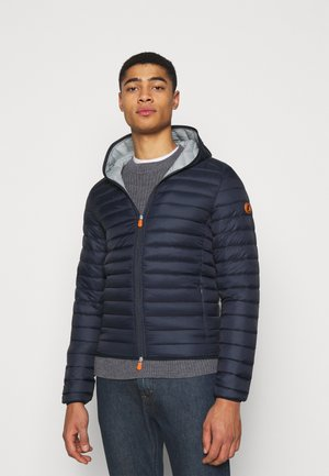 DONALD HOODED JACKET - Lehká bunda - navy