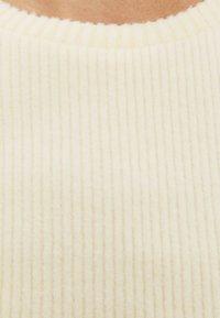 Bershka - Basic T-shirt - yellow - 4