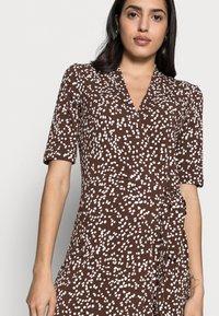 InWear - BEN WRAP DRESS - Jersey dress - coffee brown - 4