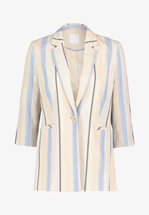 Short coat - light blue/cream