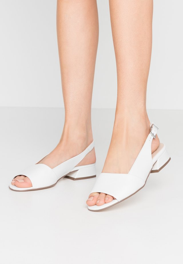 PANA - Sandaler - weiß/samoa