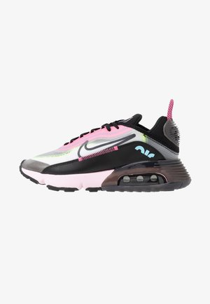 AIR MAX 2090 - Sneakersy niskie - white/black/pink foam/lotus pink/volt/blue gaze