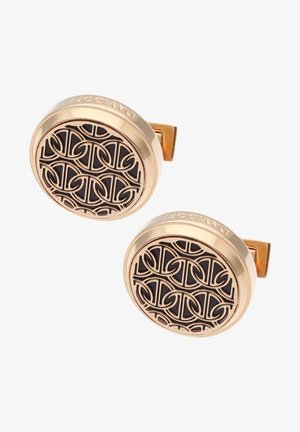 Boutons de manchette - rose gold/black