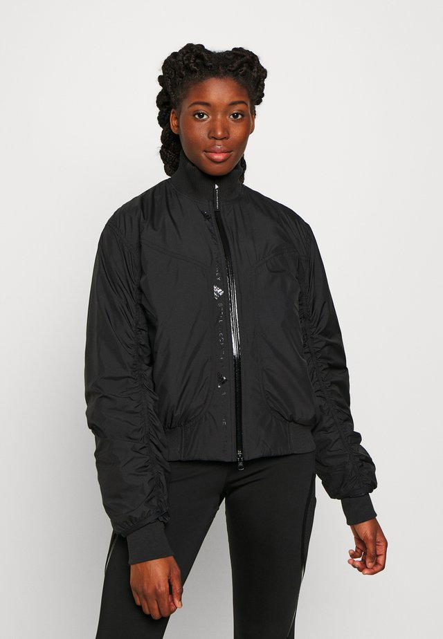 BOMBER - Light jacket - black