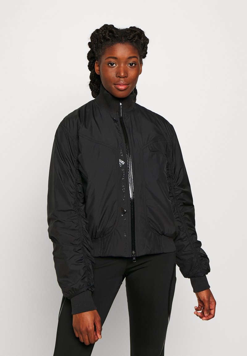 adidas by Stella McCartney - BOMBER - Overgangsjakker - black