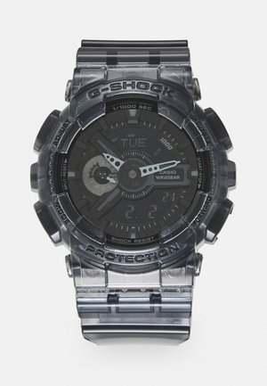 BLACK SKELETON GA-110SKE UNISEX - Digital watch - transparent/black