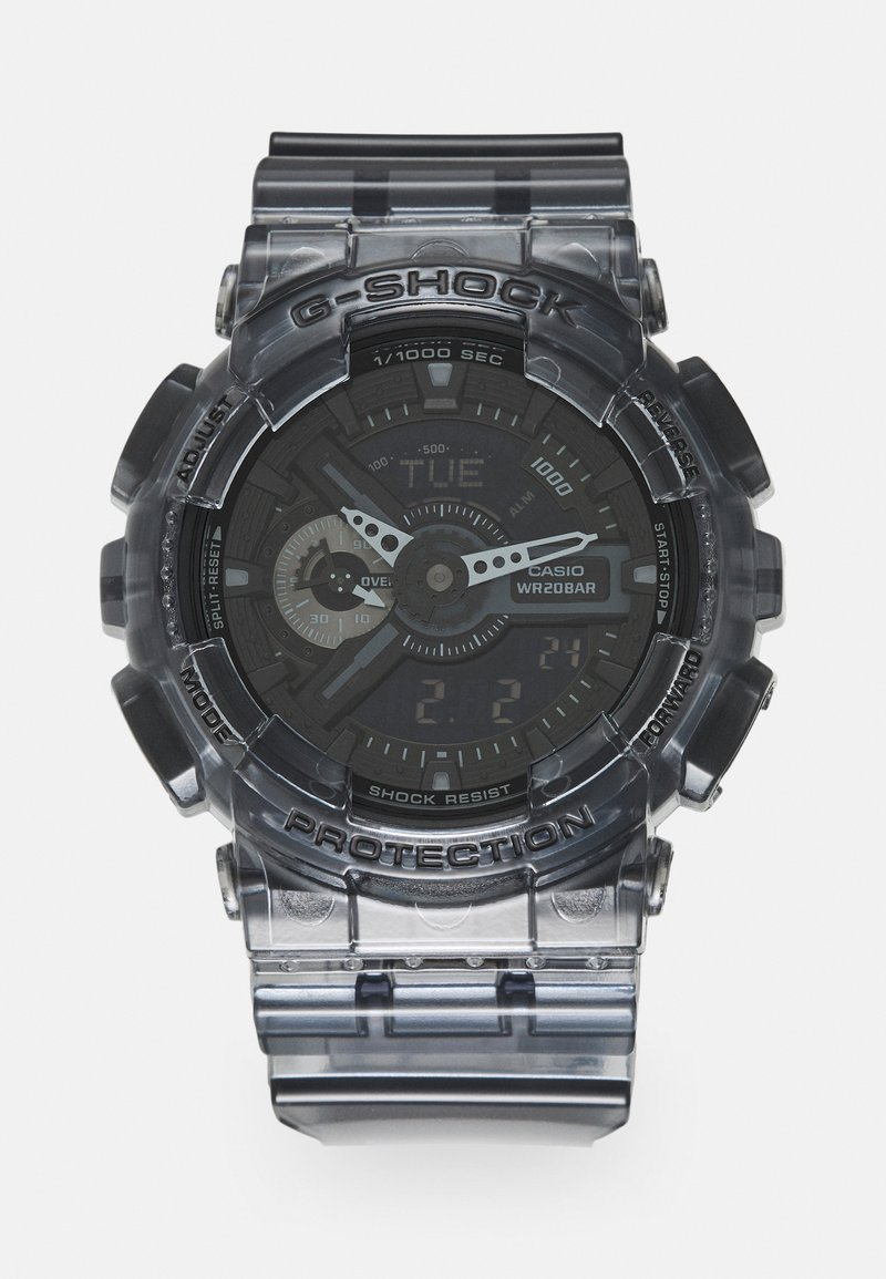 G-SHOCK - BLACK SKELETON GA-110SKE UNISEX - Digital watch - transparent/black