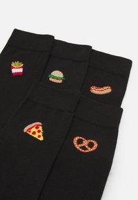 Pier One - 5 PACK - Ponožky - black - 1
