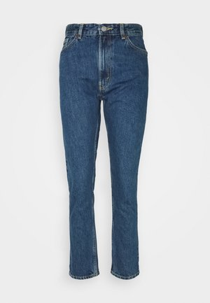 KIMOMO LA LUNE - Jeans Straight Leg - blue medium dusty