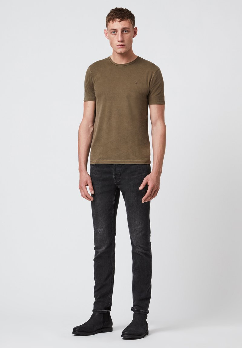 AllSaints - OSSAGE  - Basic T-shirt - dark green