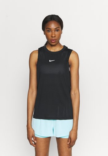 TANK - T-shirt de sport - black/white