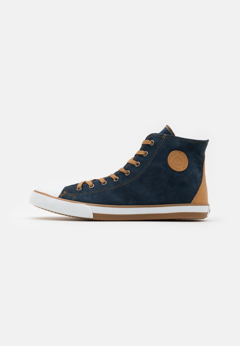 Harley Davidson - FILKENS - High-top trainers - blue