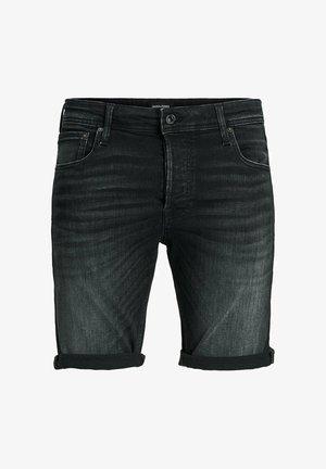 RICK ORG JJ 557 50SPS - Denim shorts - black denim
