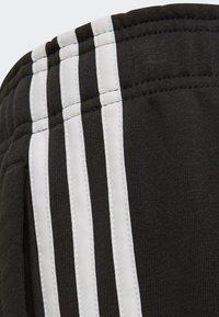 adidas Performance - MUST HAVES 3-STRIPES SHORTS - Sports shorts - black - 4