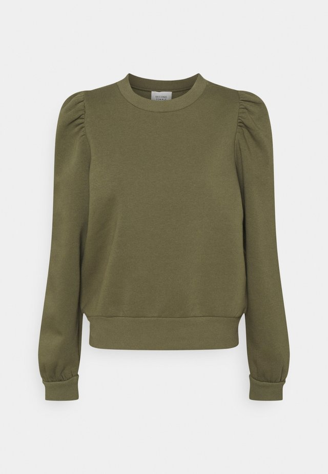 CARMELLA  - Sweatshirt - olive night