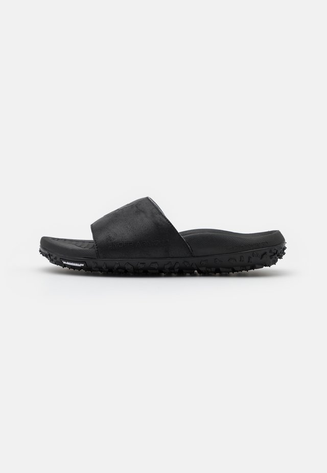 ROCK - Pool slides - black