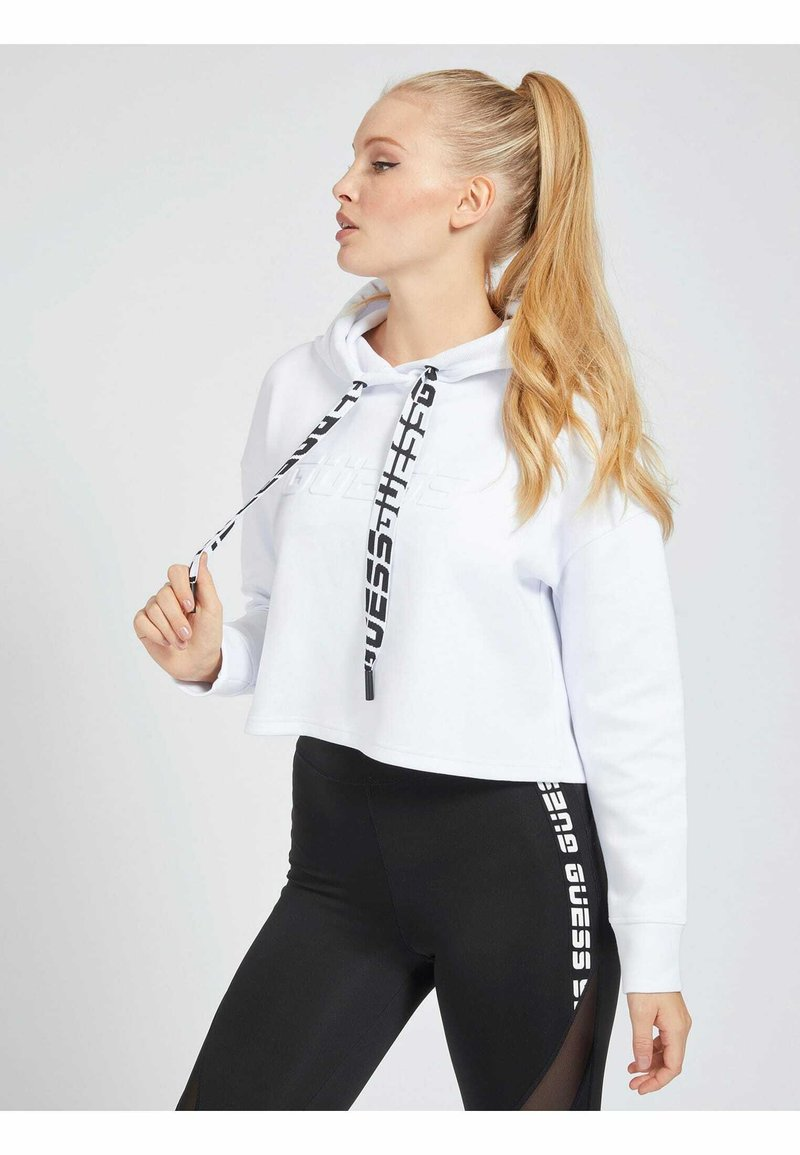 Guess - Hoodie - wit