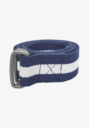 Belt - navy/white/navy