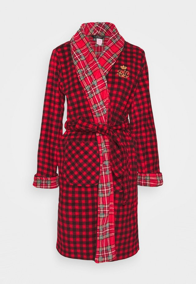 ROBE - Dressing gown - red
