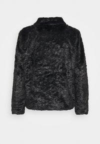 Esqualo - CRUSHED - Winter jacket - black - 1
