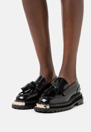 PUNK - Nazouvací boty - noir