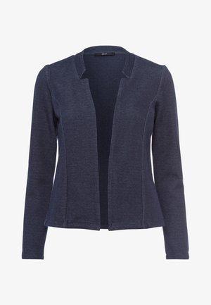 MIT STEHKRAGEN - Blazer - dark blue