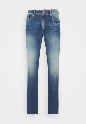 SAMPSON WAY STREACH - Slim fit jeans - medium blue