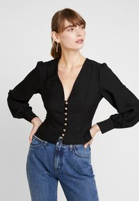 Nly by Nelly - STYLISH BLOUSE - Blus - black - 0