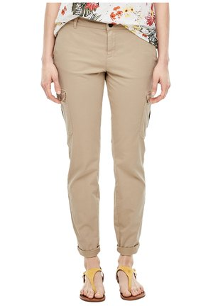 REGULAR FIT: CHINO AUS TWILL - Trousers - sand