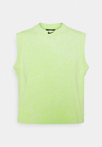 WASH  - Débardeur - ghost green/black