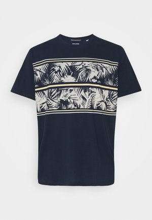 JORSUNNYS TEE CREW NECK - T-shirt med print - navy blazer