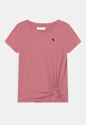 KNOT FRONT  - T-shirt print - heather rose