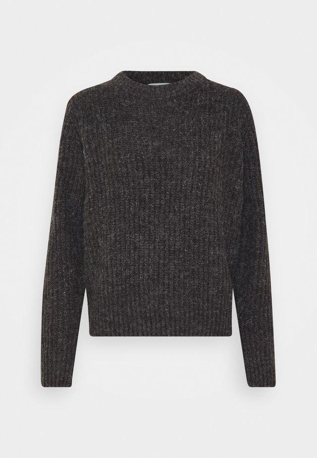 JDYTESSA - Sweter - dark grey melange