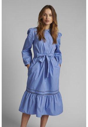 Denim dress - wedgewood