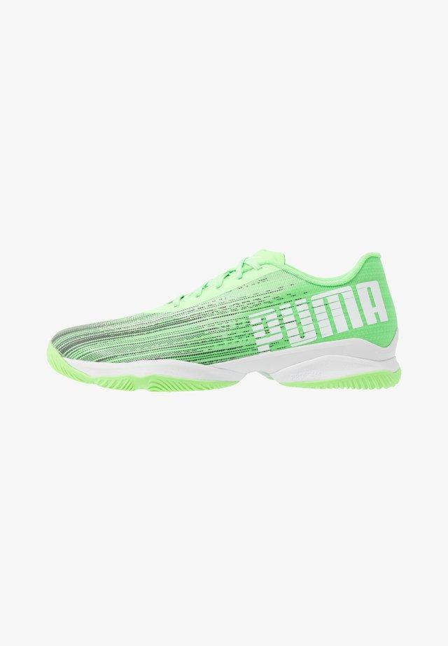 ADRENALITE 2.1 - Obuwie do piłki ręcznej - elektro green/black/white