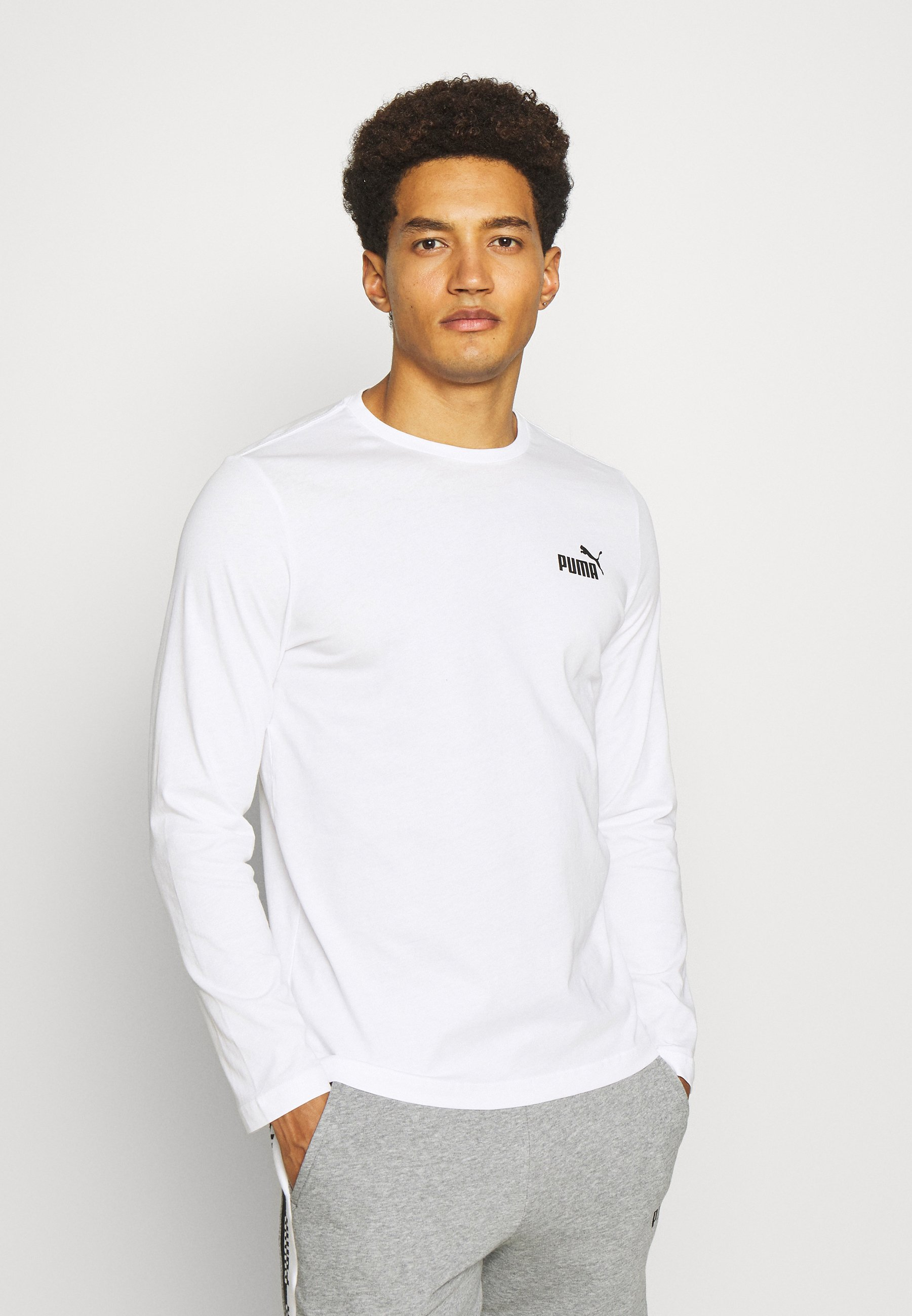 Men SMALL LOGO LONGSLEEVE TEE - Long sleeved top