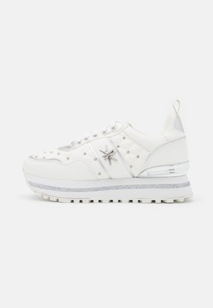 Joggesko - soft bianco/argento